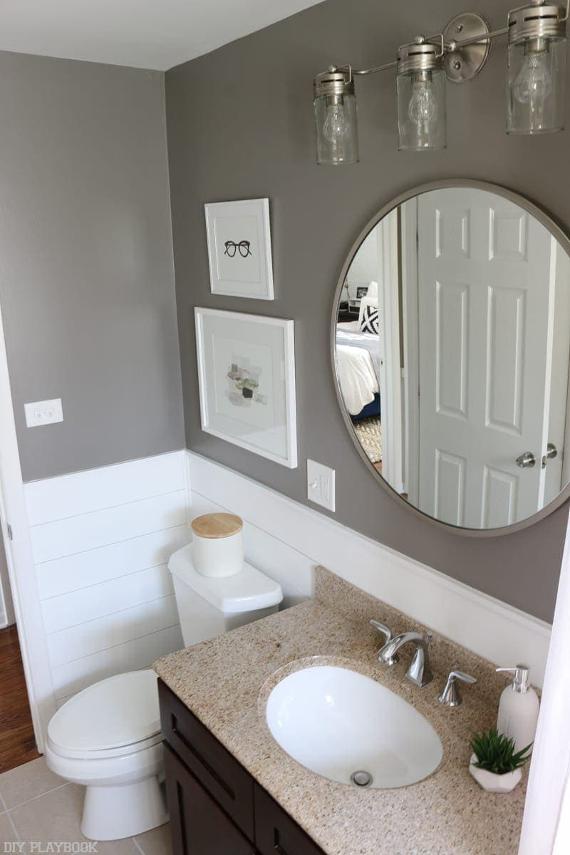Shiplap Bathroom Reveal 6 Diy Playbook