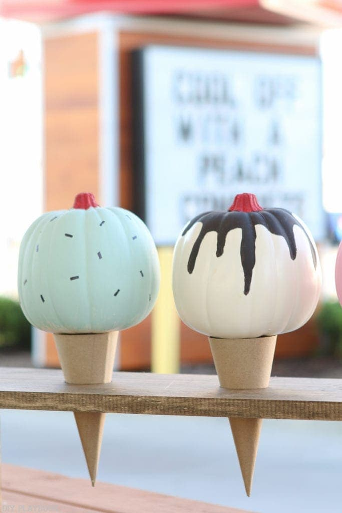 DIY Ice Cream Pumpkin | DIY Playbook