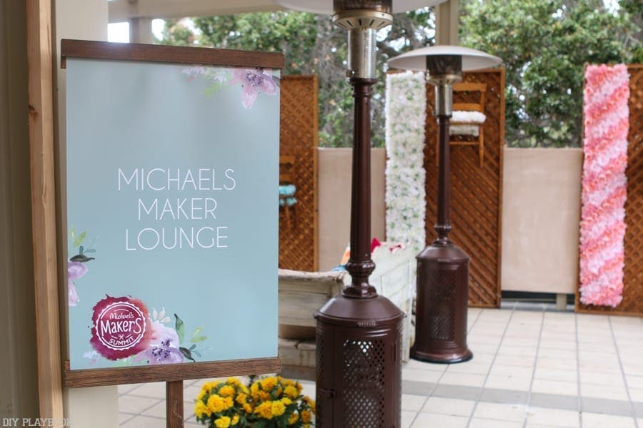 The Michael's Maker Lounge.