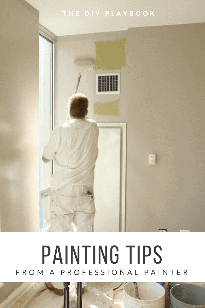 If you're tackling a paint job, check out these painting tips from a professional painter.