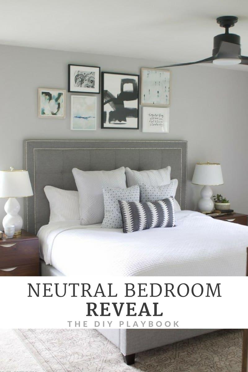 Neutral Bedroom Reveal