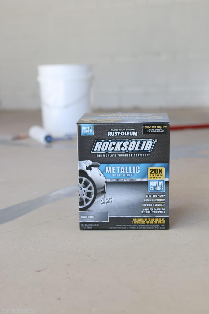 Sealing Garage Floor Diy Project With Epoxy The Diy Playbook