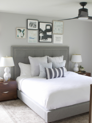Neutral Bedroom REVEAL - Lowe's Fall Makeover