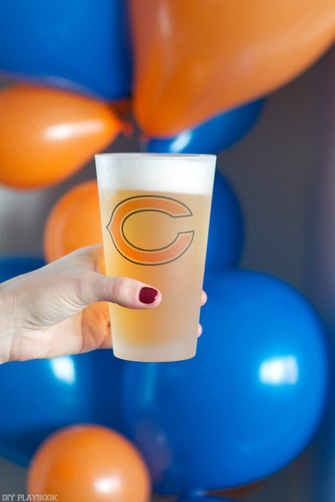 Check out these awesome frosted beer mugs the NFL has created for all of their teams!
