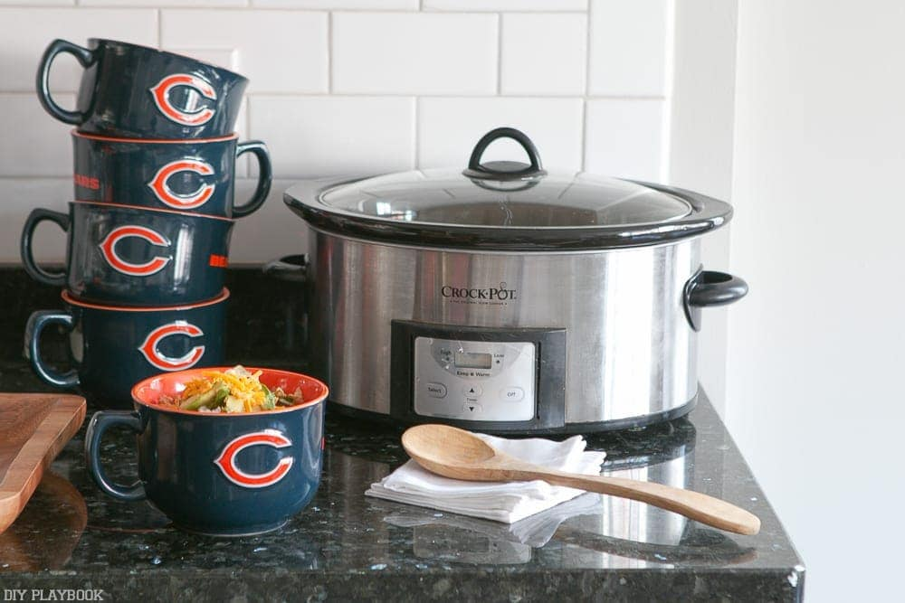 Have guests bring their dishes in crockpots