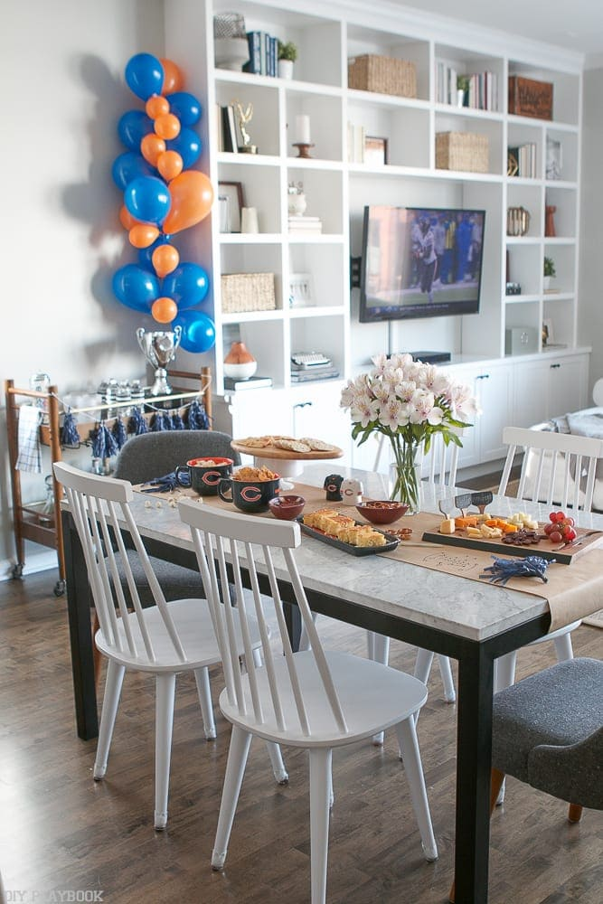 Party ideas for your Super Bowl festivities