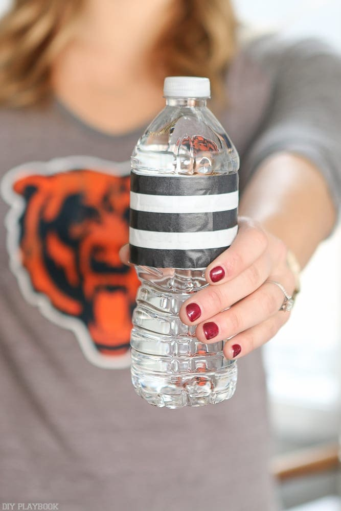Referee water bottles are super easy to put together