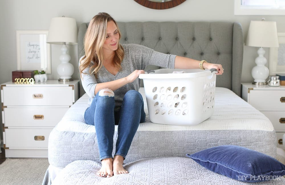 Do a laundry gameplan! How to Get Organized for the Week Ahead | The DIY Playbook