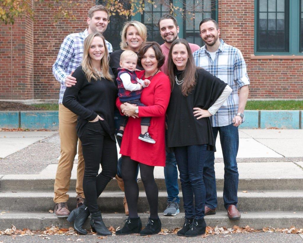 O'Halloran family Christmas card