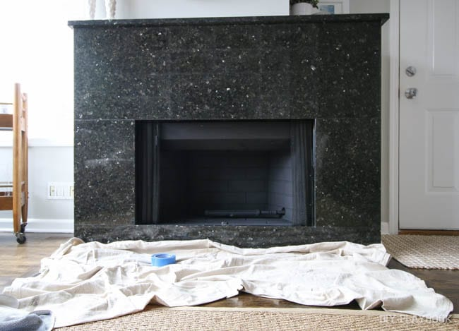 We recently updated the inside of our fireplace. What used to be dirty brick is now bold and clean. Follow these instructions on how you can do the same and update your own fireplace. Lots of great pictures and tips for how to succeed.