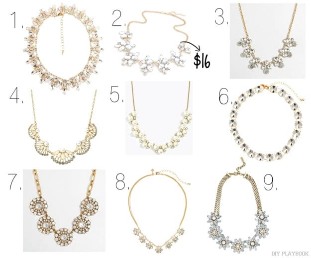 Here are our favorite statement necklaces! Which ones do you love the most?