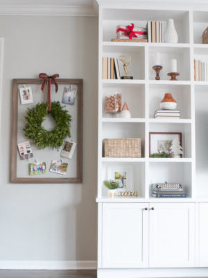 Tips for Decorating Shelves for the Holidays