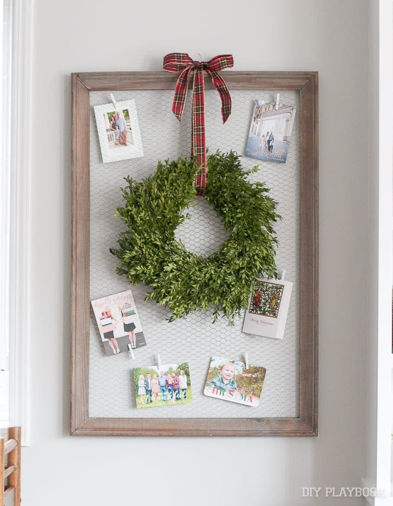 christmas-card-display-wreath