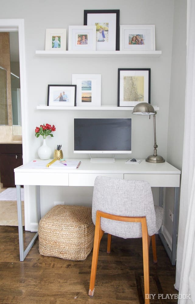 Bedroom Work Station | DIY Playbook