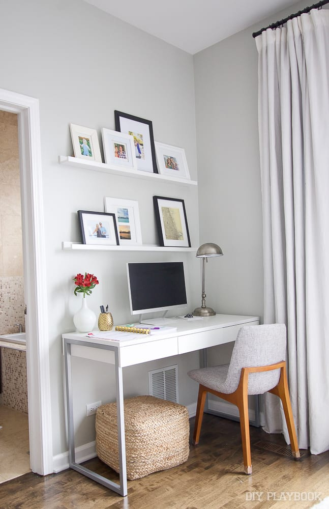 Picture ledges are all the rage: 6 Ways to Decorate with Picture Frames | DIY Playbook