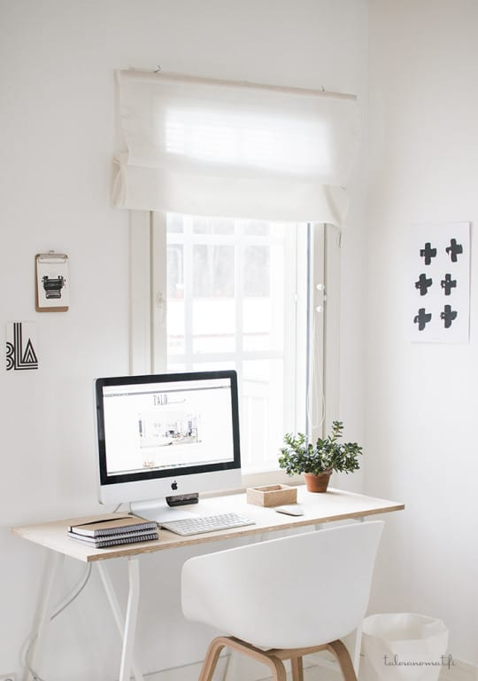 Home Office Redesign Ideas from Minimal Desks