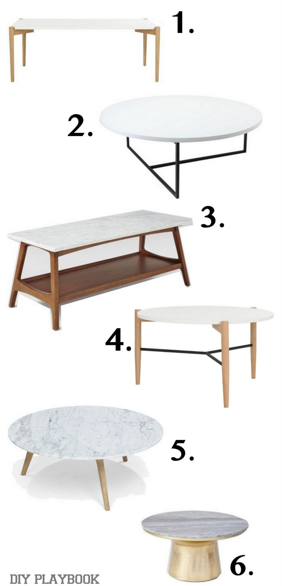 Narrowing down my coffee table choices to find the perfect one for Html table options