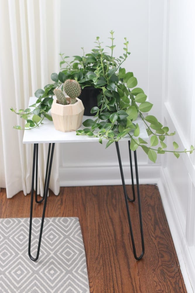 Even Though I Didnu0027t Add The Wood Like Casey, I Do Feel Like This Plant  Stand Feels Very Sturdy. One Thing I Would Note For Fellow DIY Ers Who May  Be ...