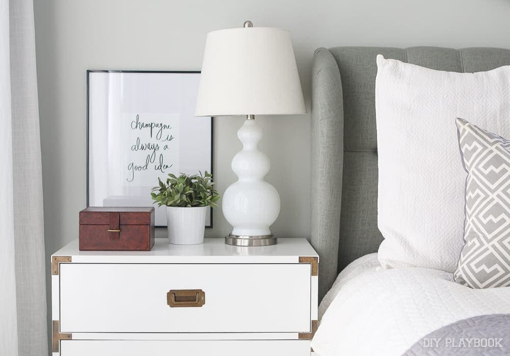 Lulu & Georgia is an online boutique with cute, unique, and feminine home accessories like these bedside table decorations.