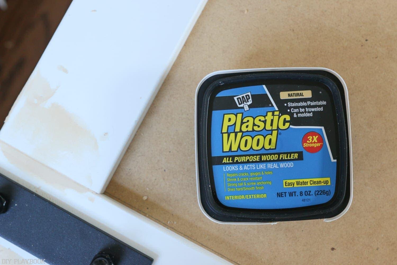 Dap plastic wood- all purpose filler