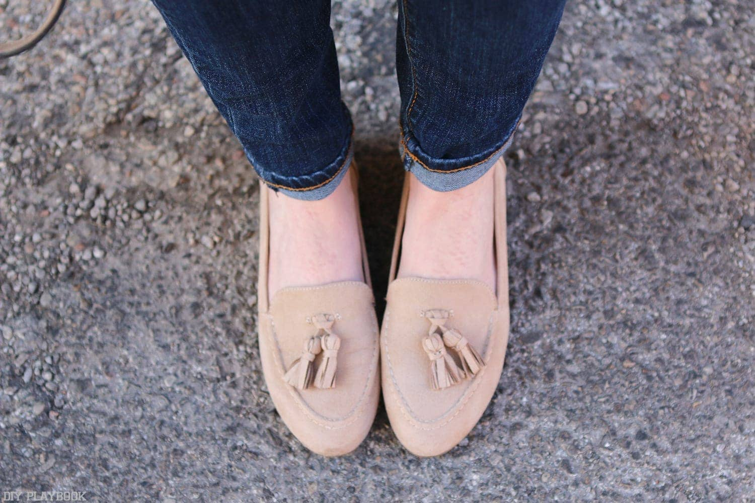 Comfy shoes like these adorable flats are a must for Bridget in her long day of teaching and walking from class to class!