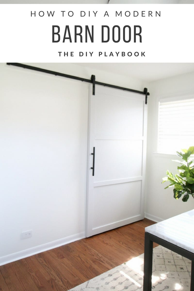 How to DIY a Modern Barn Door-2
