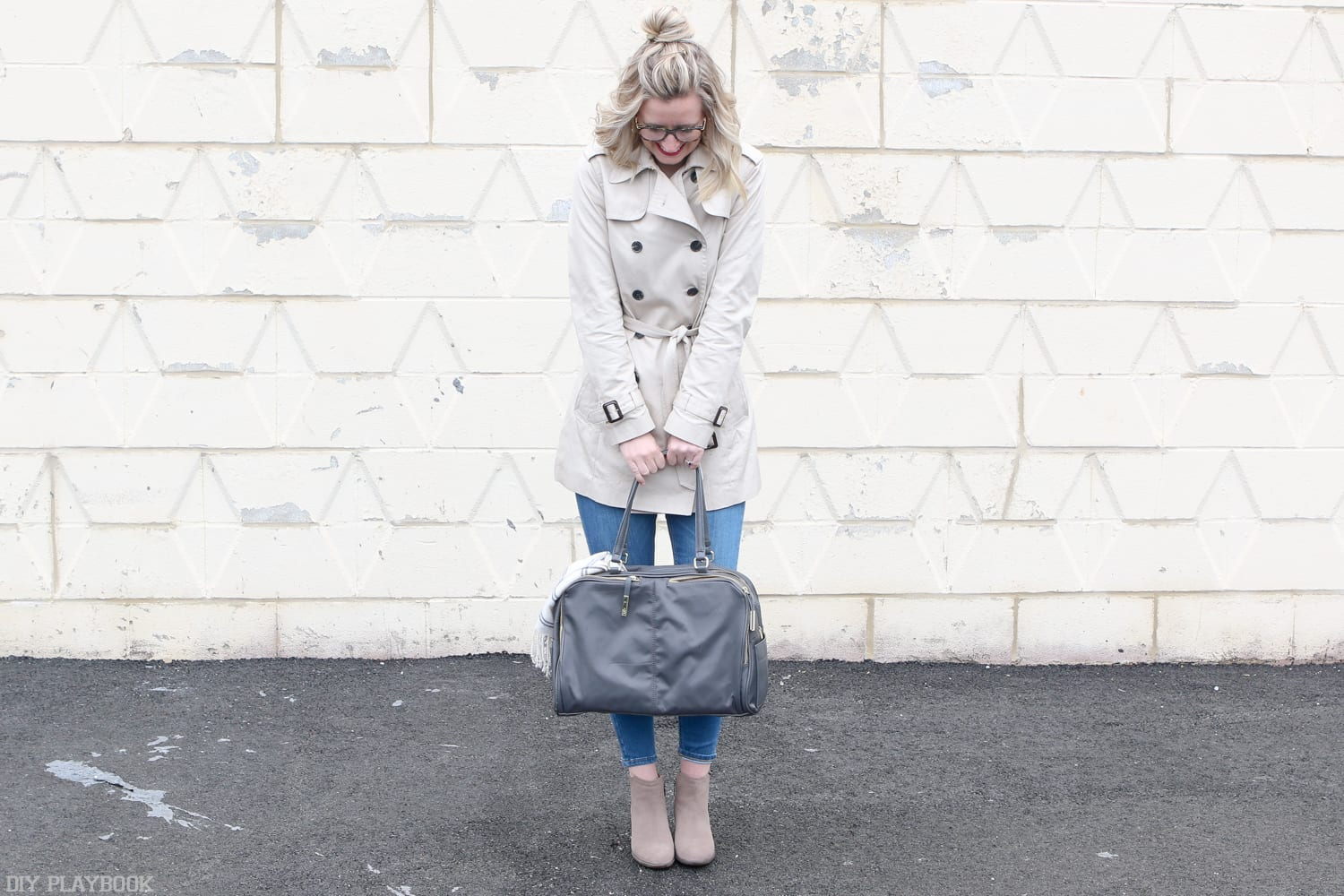 How to Style a Trench Coat for Work and Play   DIY Playbook