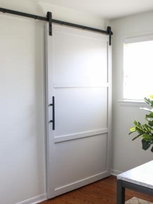 How to Build a DIY Barn Door - Step 3