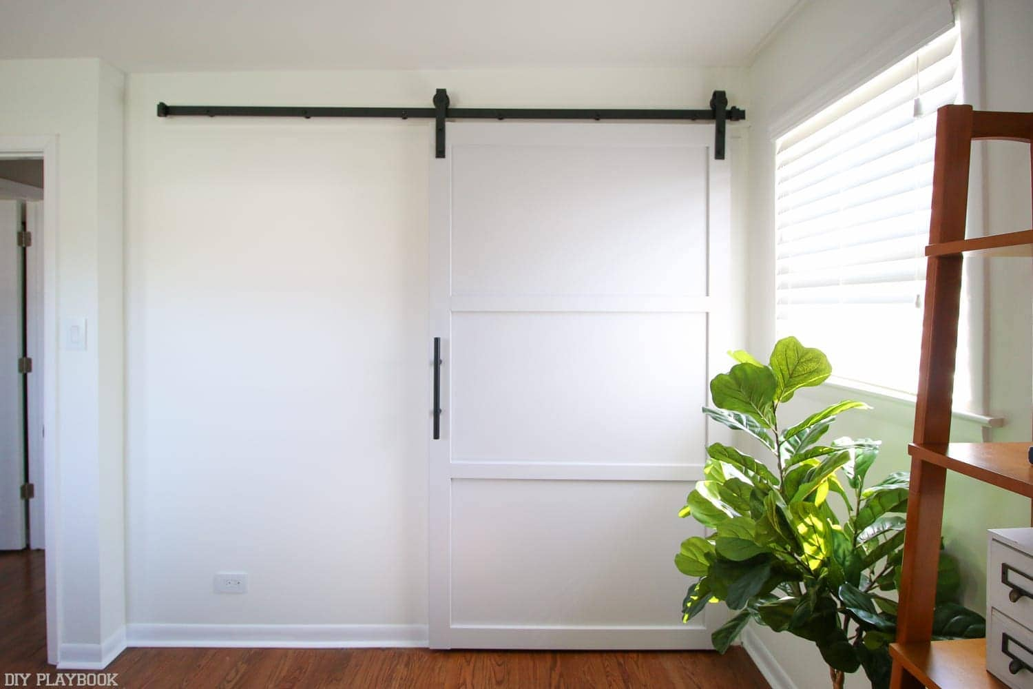 How To Hang A Barn Door In Your Home Diy Diy Playbook