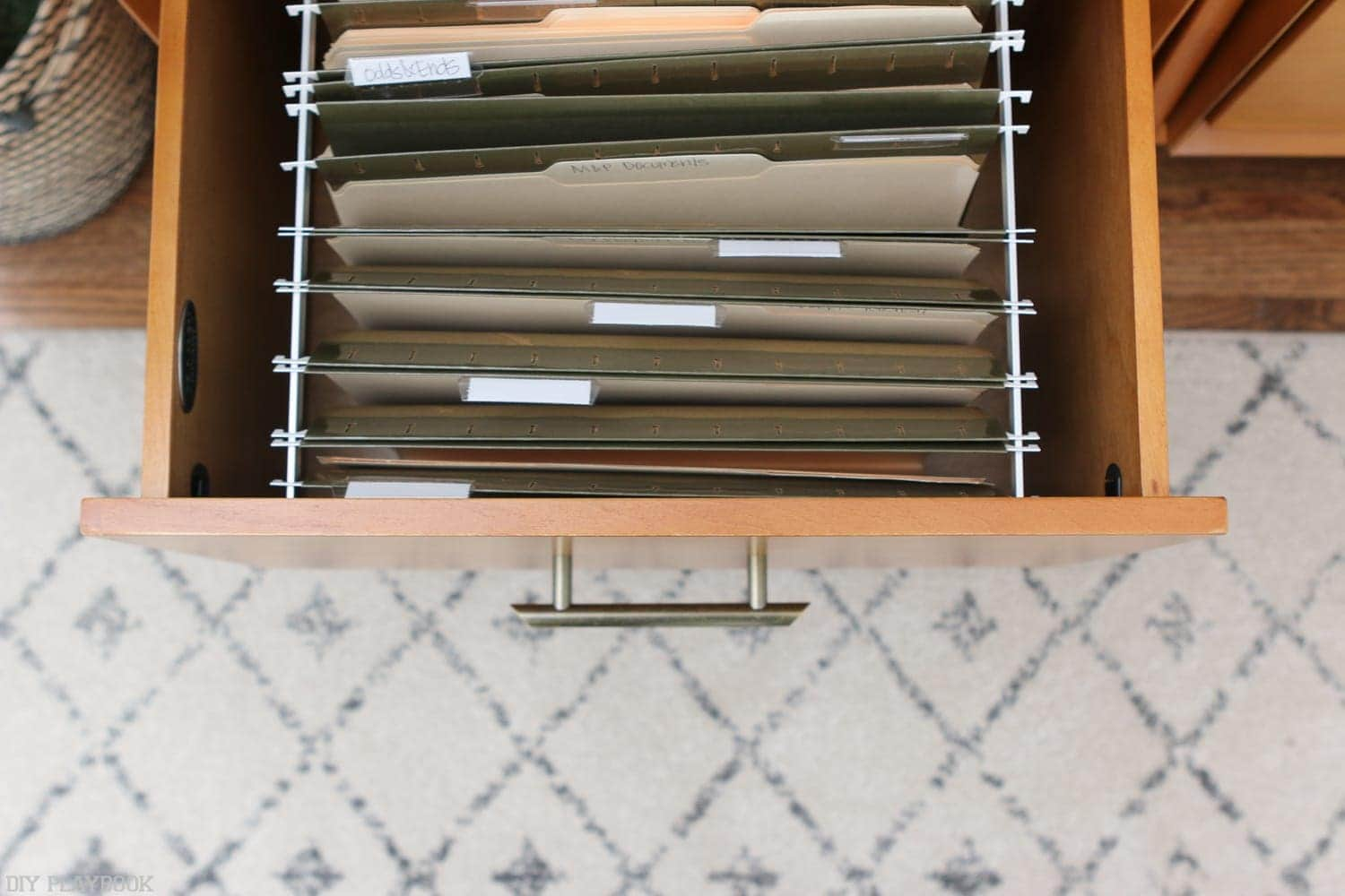 Hide file folders in these fantastic drawers