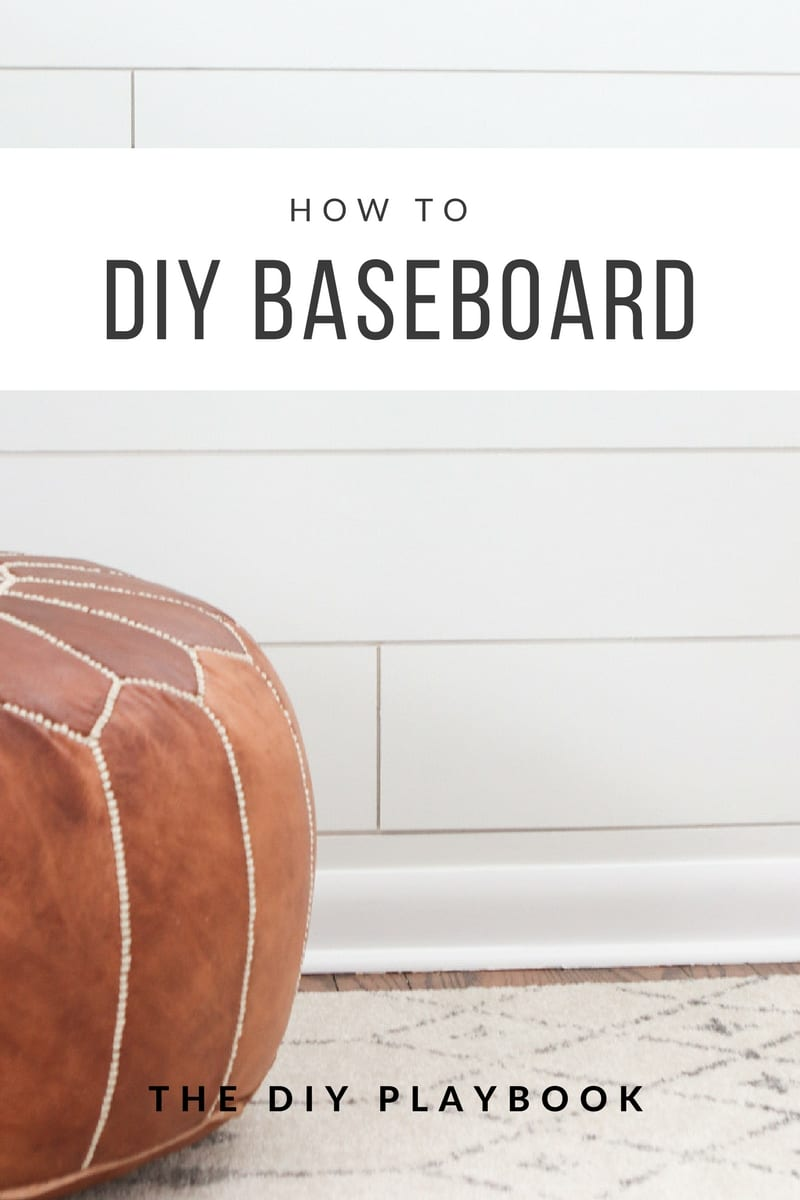 How to Install Baseboard | DIY Playbook