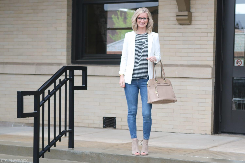 Gingham-cold-shoulder-blouse-fashion-bridget