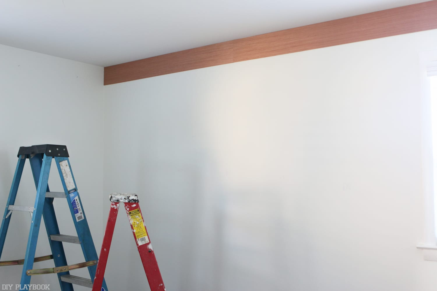 Buy 4 sheets: DIY shiplap wall | DIY Playbook