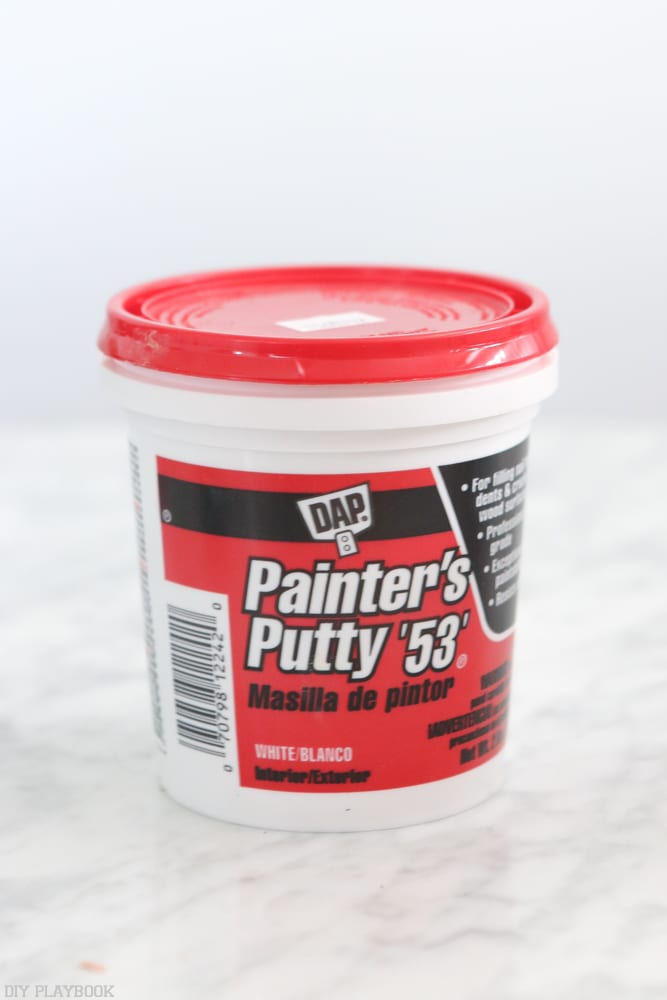 Putty the nail holes: How to Install Baseboard | DIY Playbook