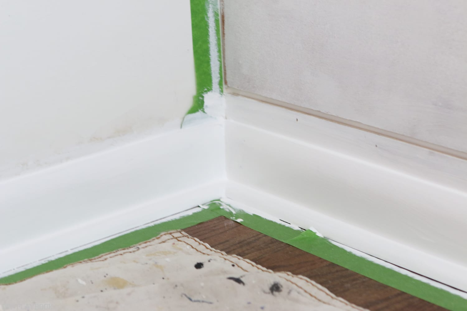 Semigloss makes it pop :How to Install Baseboard | DIY Playbook
