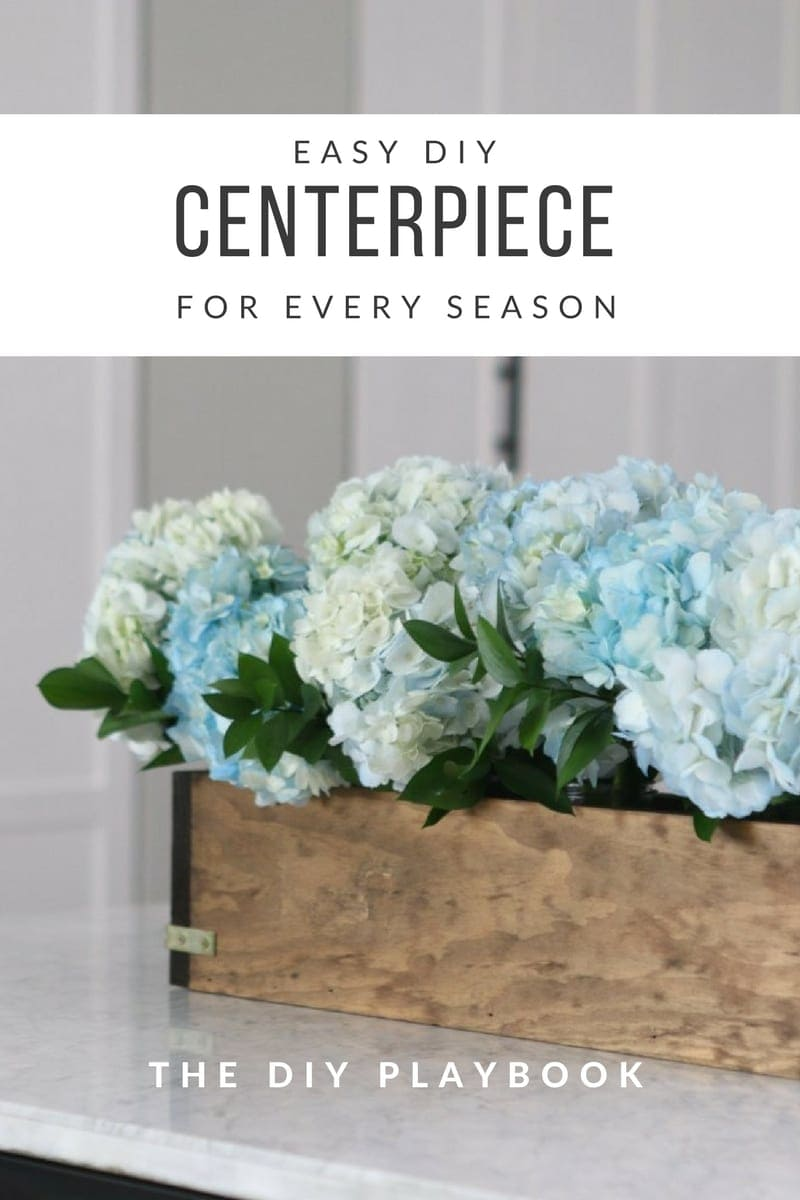 How to make a wood planter for the centerpiece of your dining room table
