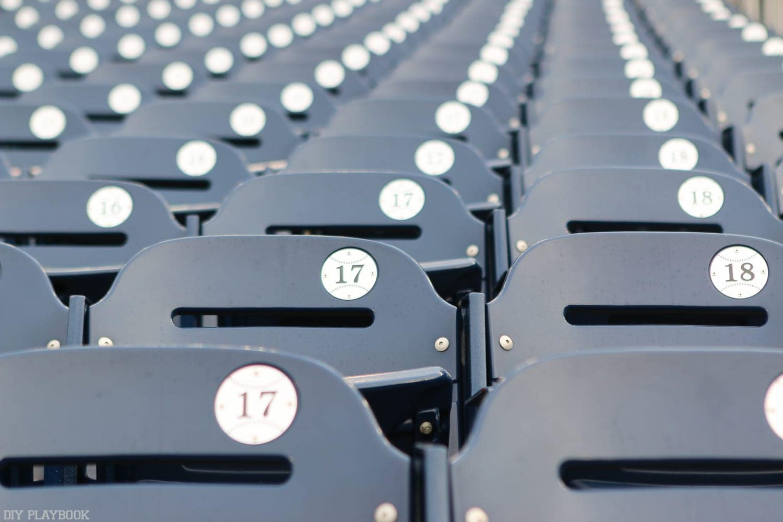 Visiting National's Stadium in Washington, DC.