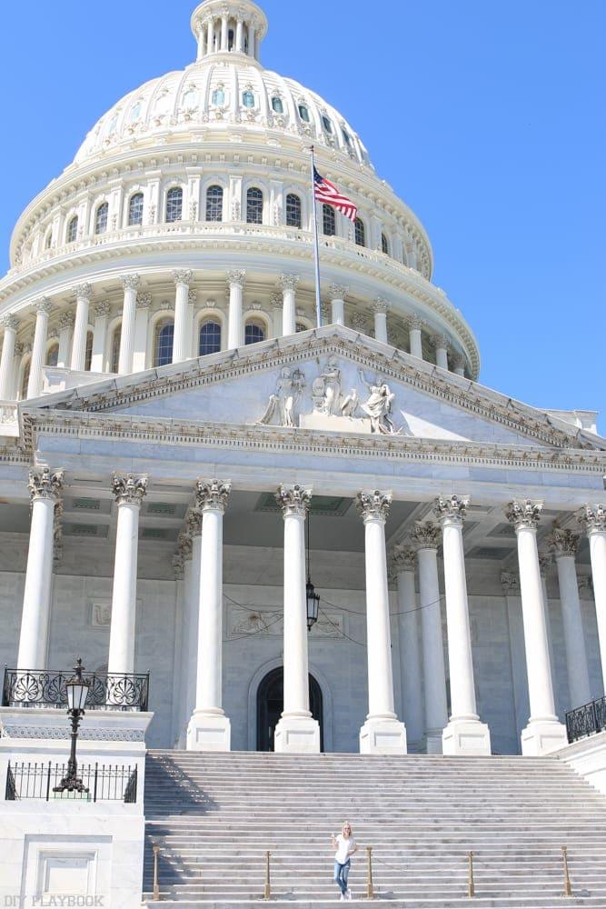 Stunning architecture in Washington, DC.
