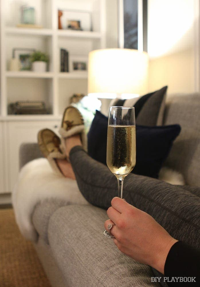 champagne-slippers