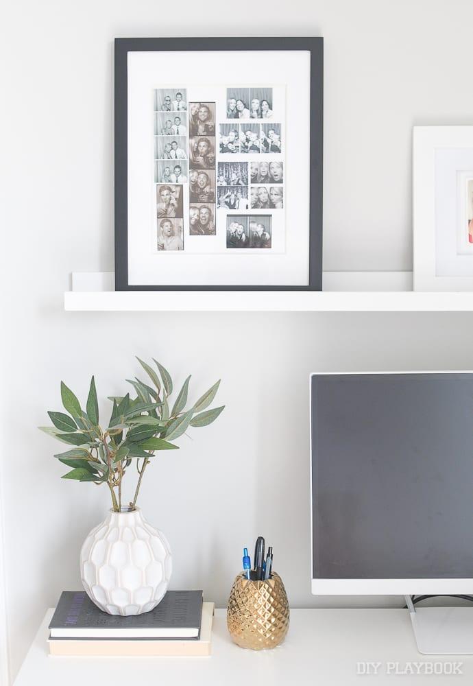 One simple option- frame them!
