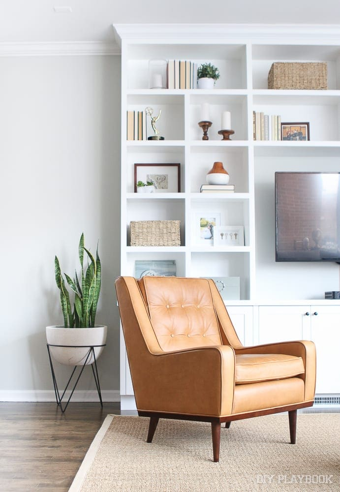 Article has great prices that can't be beat. This brown leather chair from Article was a steal!