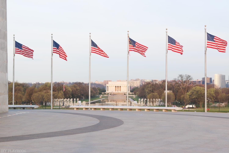 A beautiful spring day in Washington, DC.