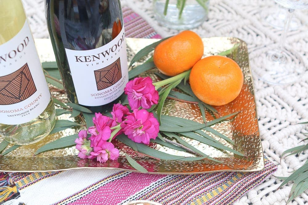 Moroccan_Table-oranges_flowers_gold_tray
