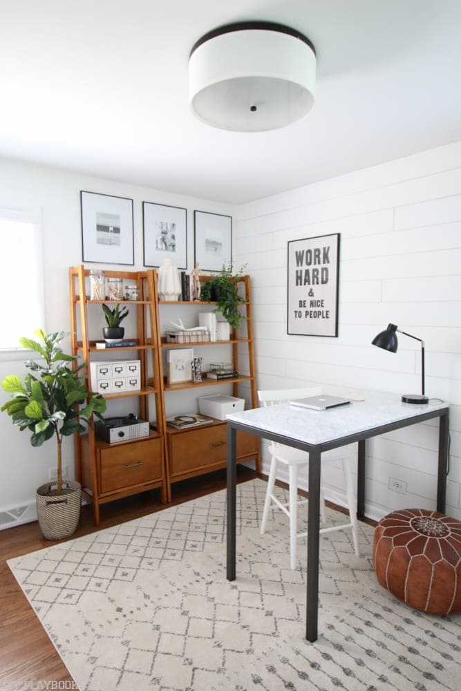 It adds texture to a space: DIY shiplap wall | DIY Playbook