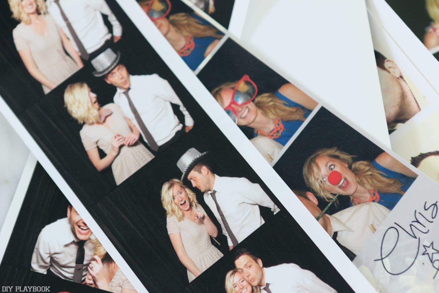 Enjoy making the most of your photobooth strips, and showcasing them in your home