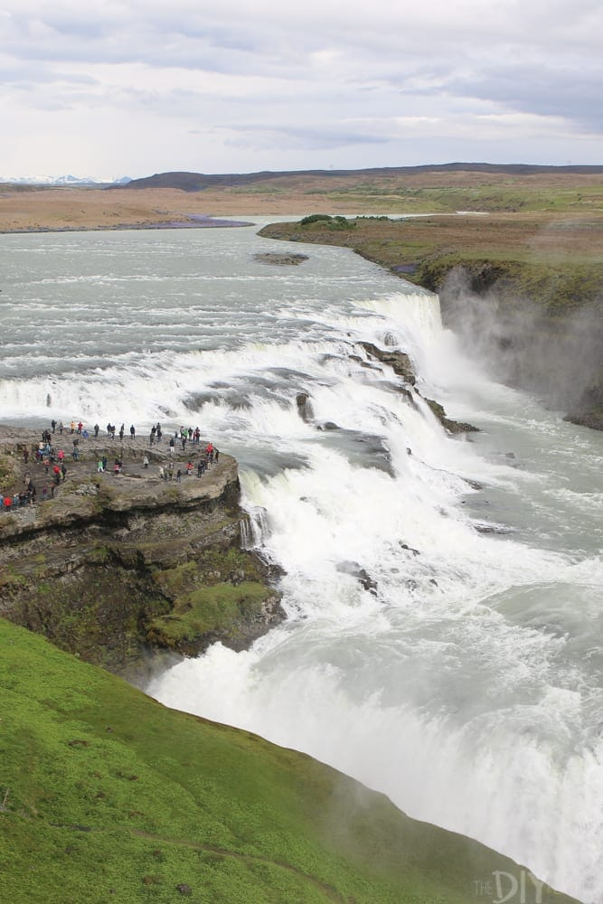 Beautiful Iceland scenery