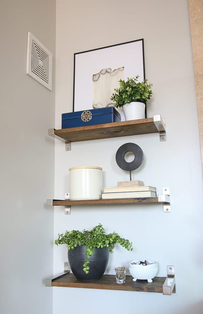 How to Style Bathroom Shelves | DIY Playbook