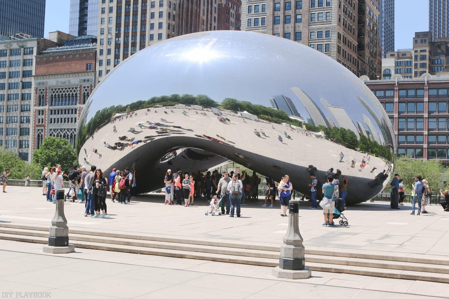 Summer Recap Video: Loving our lives in Chicago! Here we are at the Bean downtown!