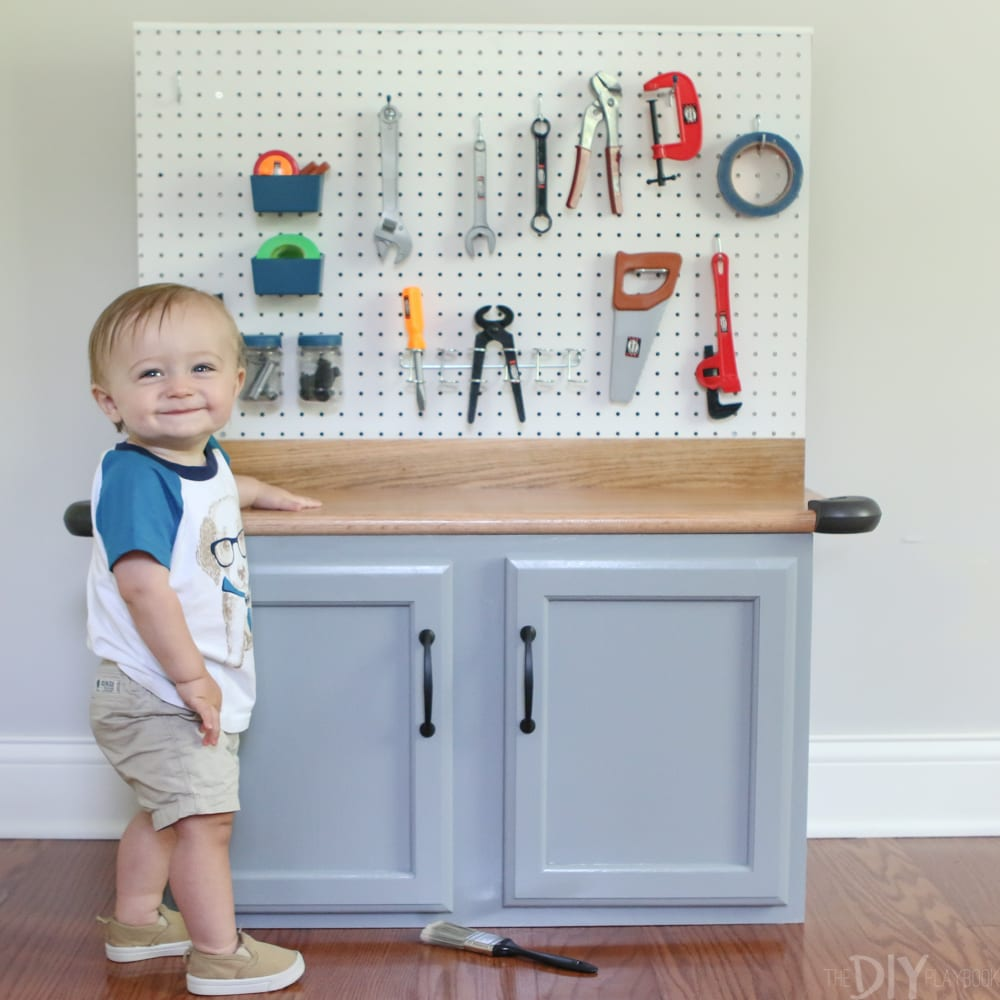 Playtime: DIY Kid's Tool Bench: Step by Step Tutorial | DIY Playbook