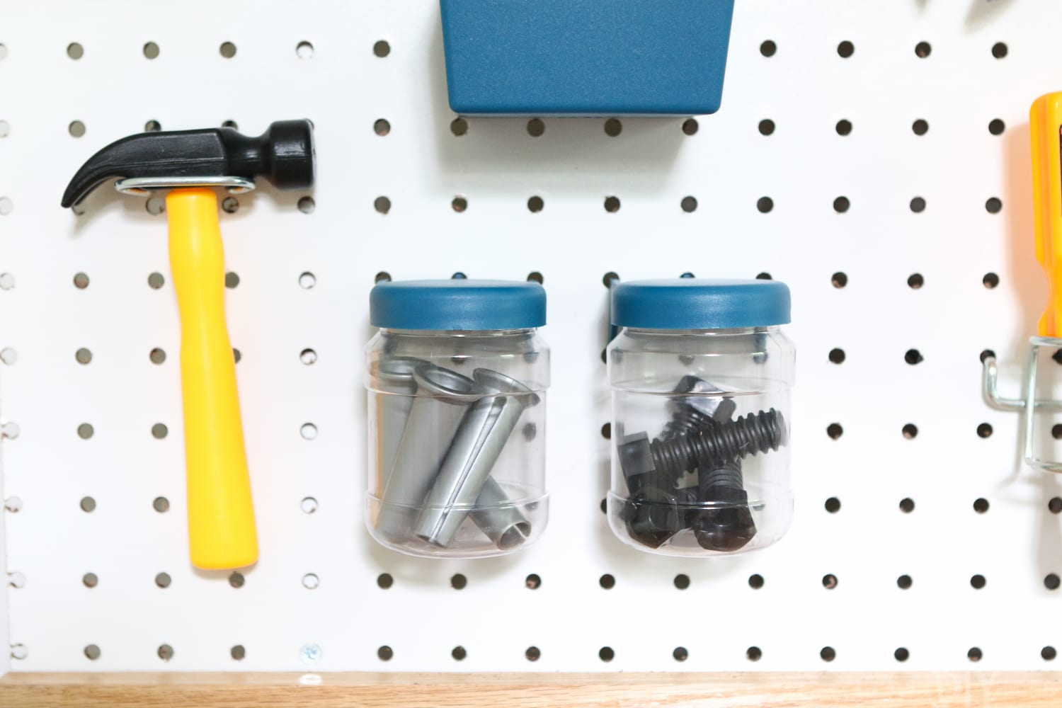 The supplies: DIY Kid's Tool Bench: Step by Step Tutorial | DIY Playbook